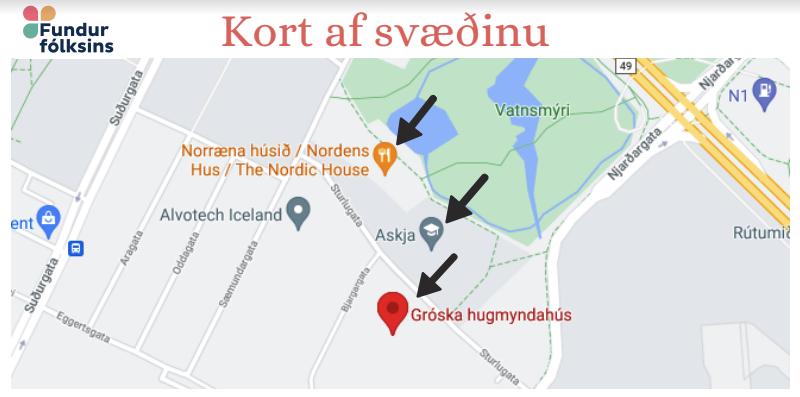 Norræna Húsið, Askja og Gróska